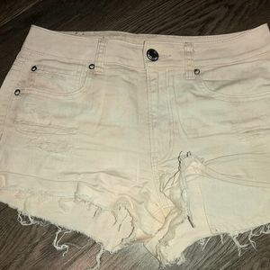 American Eagle pink size 8 High Rise Jean Short